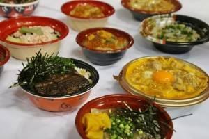 東京故鄉祭活動期間同時舉辦全國丼飯大賽,各地特色丼飯角逐金獎榮譽