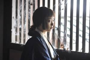 和藤岡靛搭檔演出的是女星森川葵,在片中飾演幸姬(©2015 松竹)