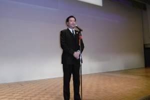 民進黨副秘書長吳釗燮向在日台灣僑民報告勝選