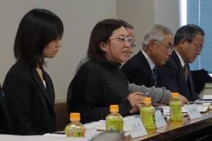 鋭い観点で意見を述べた台湾新聞社の錢妙玲社長
