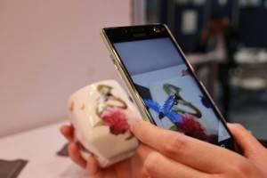 部分商品結合AR擴增實境的技術,使用專屬APP會出現AR影像
