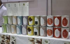 由株式會社魚榮商店推出的新潟縣越光米易開罐話題十足
