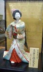 松浦真鳩乃師匠手作りの真多呂人形