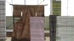 信州紬織品 和服