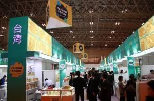 台灣共有112家廠商參加此屆東京國際食品展