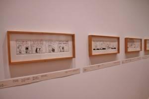 館內陳列超過150件原稿畫作和古董周邊商品(©Peanuts)