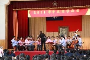 宜蘭縣立復興國中在日本第一場演出便獻給東京中華學校