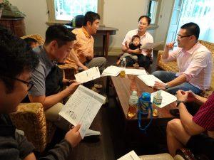 會員熱心參加台語講座