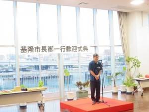 駐那霸辦事處處長蘇啟誠致詞希望更多的沖繩縣民造訪台灣