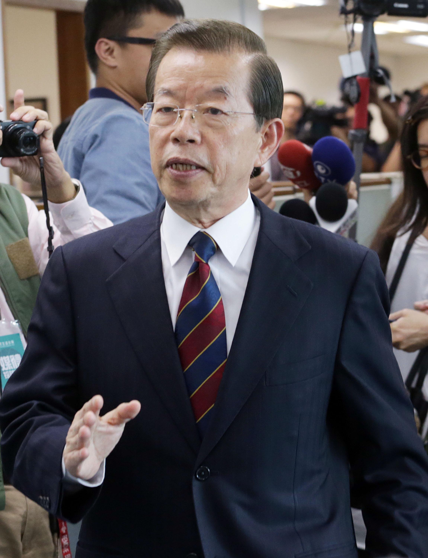 新たな駐日代表に謝長廷・元行政院長