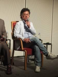 台湾画廊協会の王瑞棋理事長