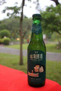 記念ラベルの台湾ビール
