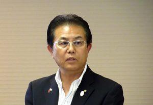 日台交流サミットin和歌山の遠藤富士雄実行委員長