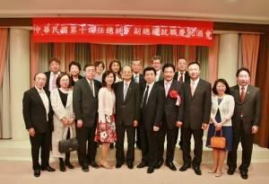 旅日僑界領袖代表應邀出席祝賀酒會