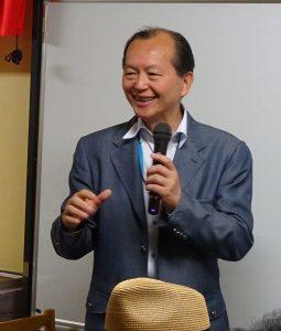 駐大阪辦事處僑務組副組長黃水益