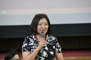 日本台灣教育中心中心長李佩華盼藉由留學展吸引更多日本學生到台留學