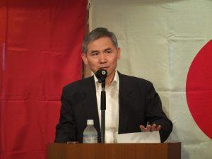 台北駐日経済文化代表処の経済部長・張厚純氏