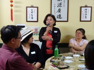 副會長深惠美勉勵年輕學子學業優先 邀請大家一起參加9月公益活動