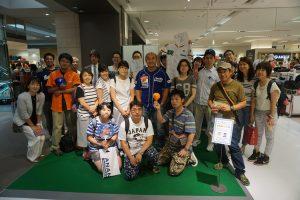 日本人、台湾人のファンが集まった