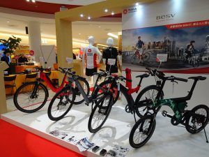 BESV展出4部電動自行車