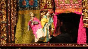 布袋戲偶造型古典 著重操作技巧