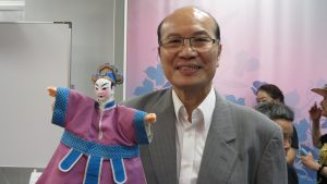 台灣文化中心主任朱文清推薦傳統布袋戲