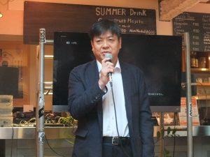 清水社長は日台アーティストの更なる交流を提案