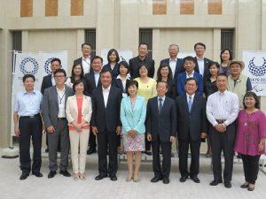 立院訪團返台前特地至東京都廳拜會新科知事小池百合子