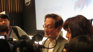施崇棠回答日本記者提問
