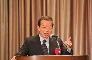 駐日代表謝長廷表示到場聽立委提及台灣現況,頗有收穫