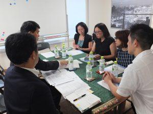 會中談及台灣投資者對日本不動產買賣環境的看法以及協會方面處理不動產買賣糾紛的情況