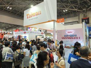 2015年の台湾ブースの様子