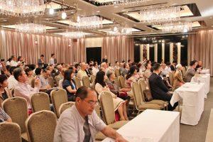 現場超過200位聽眾在場聆聽演講