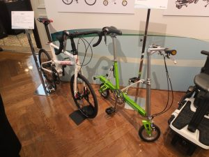 Pacific Cyclesの高いデザイン力と技術力を持ち合わせる折り畳み式自転車