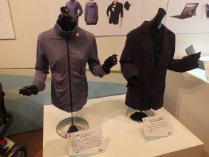 SINGTEX の究極なエコ技術コーヒー豆の粉でつくったスーツ&Tシャツ「S.Café」