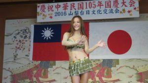 狄鶯表演去年台灣的洗腦歌 阿嫂