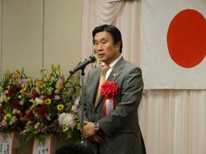 日華親善神戶市會議員連盟會長安達和彥