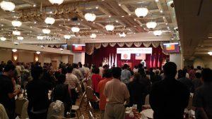 琉球華僑總會中華民國 105年雙十國慶祝賀會會場一景