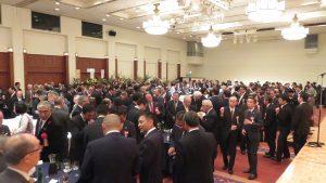 北海道各地方政要議員幾乎都來參加國慶晚會