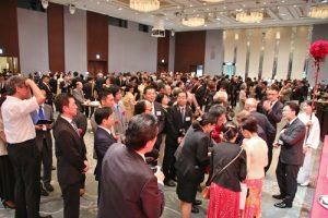 駐日代表舉辦國慶酒會,近2000位賓客到場參加