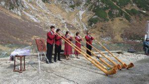 紀念WESTON登頂120周年 阿爾卑斯長號爾演奏