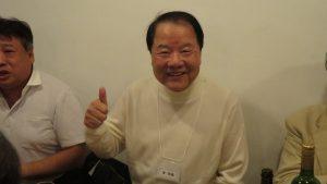 東京媽祖廟詹德薰董事長也來吃羊肉美食