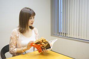 台湾への熱い思いを語る田中里奈さん