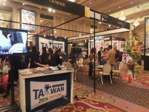 TIFFCONの台湾ブース
