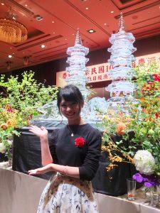 AKB48に所属する唯一の台湾人アイドル馬嘉伶(マ・チャリン)も出席