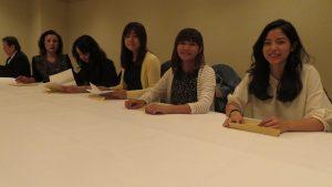 台灣來北海道留學生義務來僑會幫忙