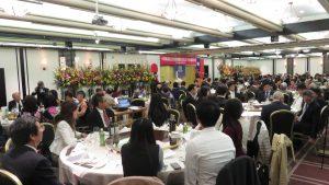 東京華僑總會70年慶 現場座無虛席