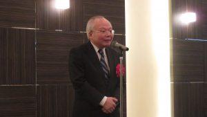 駐日副代表郭仲熙勉勵傑人會致力台日交流