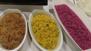菊花瓣醃漬料理 保留花瓣顏色跟清香
