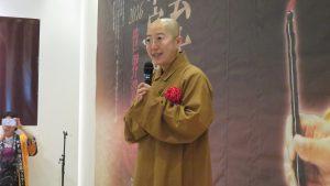 佛光山人間佛教研究院院長覺培法師講述星雲大師人間佛法概念